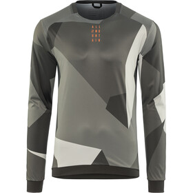 Cube AM Round Neck Jersey longsleeve Men grey camo
